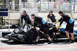 Russell's damaged chassis repaired for Spanish GP