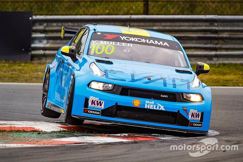 Lynk & Co sigue dominado, con Yvan Muller en pole