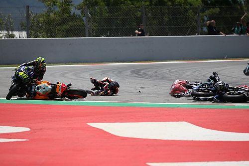 "Rossi wants Barcelona's ""supermarket parking"" Turn 10 gone"