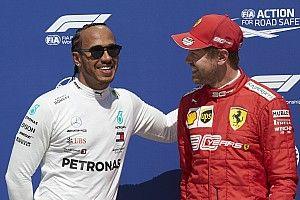 Hamilton őszintén örült Vettel rajtelsőségének?