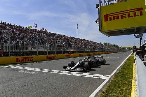 Campeonato: Posiciones después del GP de Canadá.