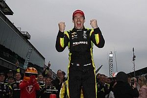 IndyCar GP: Pagenaud scores brilliant win in dry-wet race