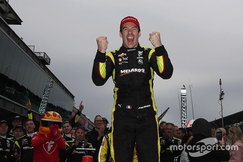 Pagenaud rijdt frustratie van zich af met winst IndyCar GP