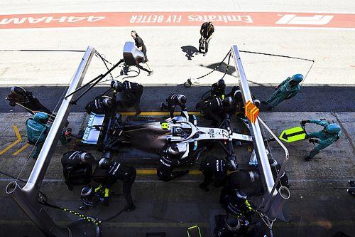 GP d'Espagne - Les arrêts au stand