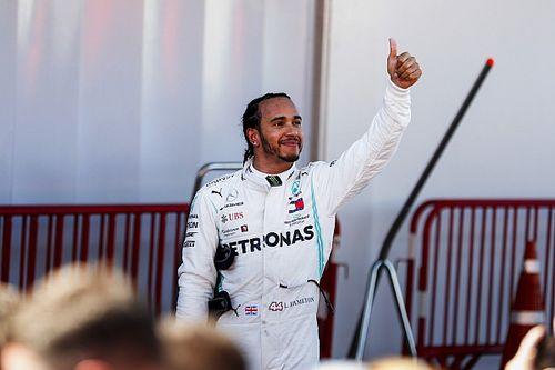 """""""天使""""から力を貰ったハミルトン。スペインGP完勝を病気と闘うファンに捧げる"""