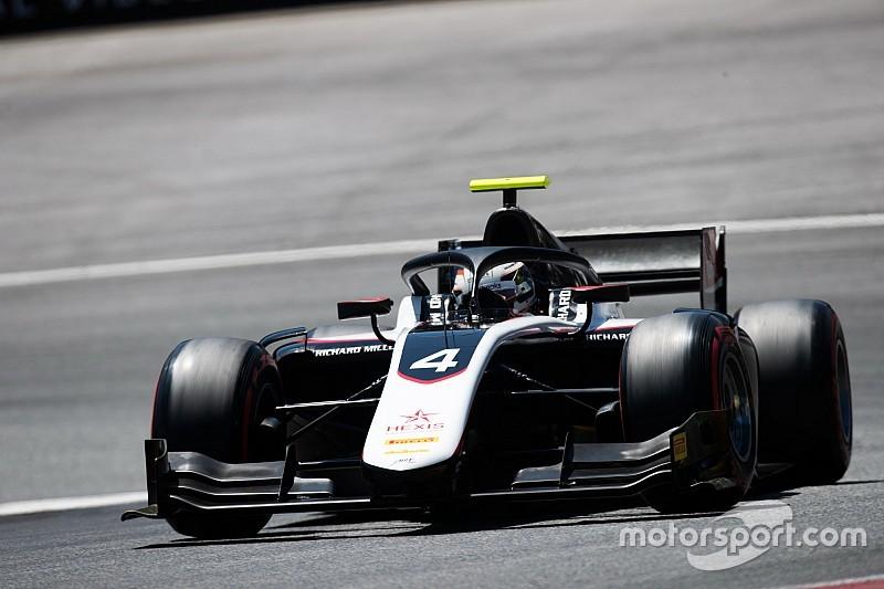 F2オーストリア予選:ポイントリーダーのデ・フリーズPP。松下信治は4番手獲得