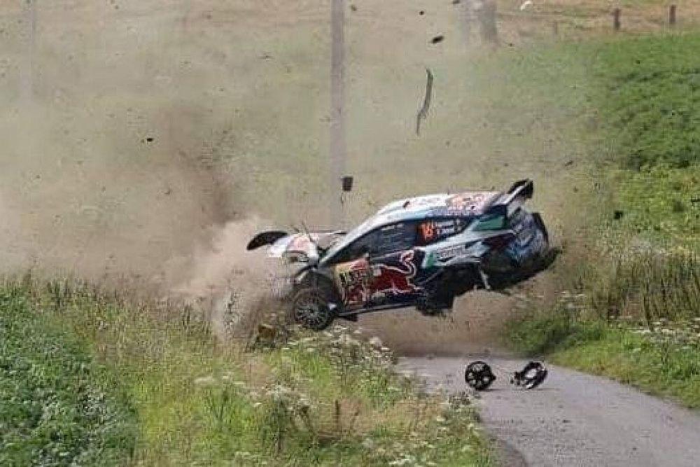 Vídeo: brutal accidente de Fourmaux en el Rally Ypres de Bélgica; Hyundai domina