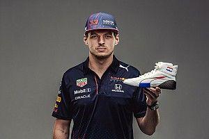 Verstappen met speciale schoenen in Dutch GP