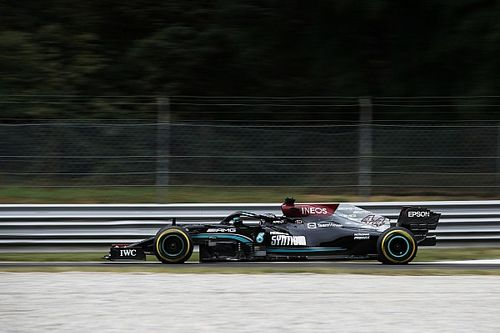 Hamilton voor Verstappen in eerste training Italiaanse GP
