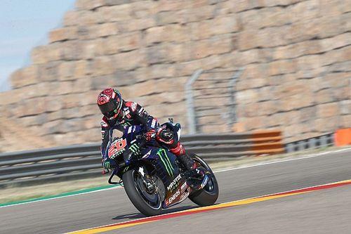 WK-stand na de MotoGP Grand Prix van Aragon
