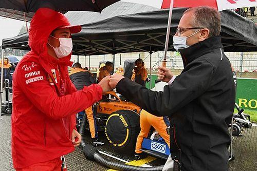 CEO da Fórmula 1 diz que chuva de domingo em Spa não estava prevista