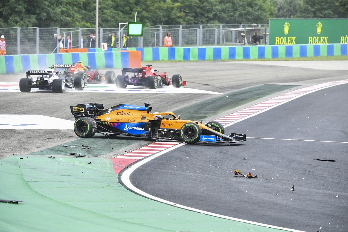 Ricciardo, ''karmaşadan kaçabildiğini'' sanmış