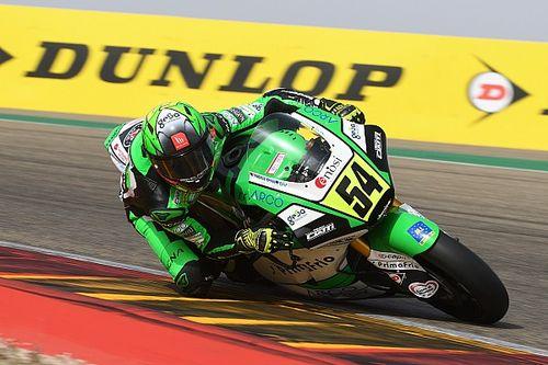 Hasil Race 1 CEV Moto2 Aragon: Aldeguer Fantastis, Aleix Viu P5