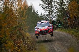 Finland WRC: Breen leads Tanak as night stage concertinas the pack
