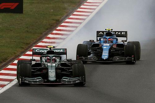 Vettel assume la responsabilité du choix des pneus slicks