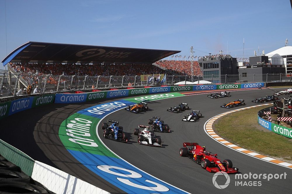 Vídeo: así gestionó Alonso la genial primera vuelta de Zandvoort