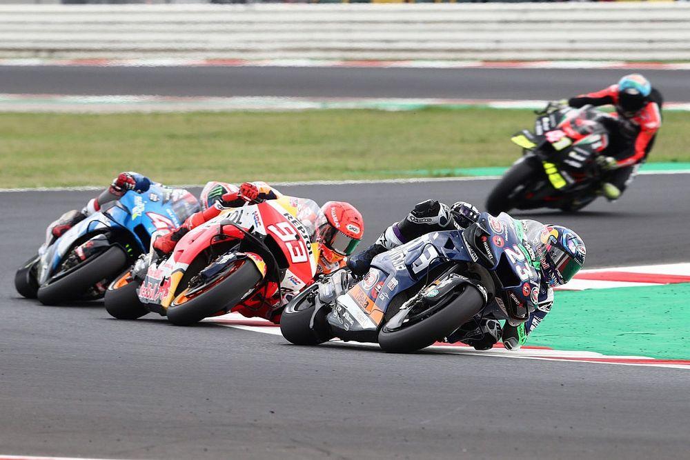 """Bastianini: """"Adelantar a Márquez, el jefe de MotoGP, fue fantástico"""""""