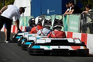 Electric kart race supports Youth Olympics