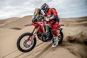 Dakar 2019: Leider Brabec blaast Honda-krachtbron op in achtste etappe