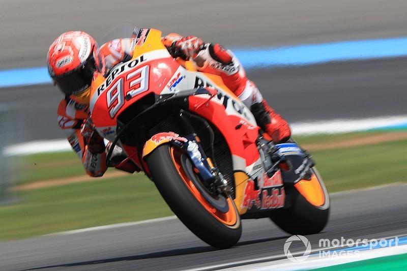 MotoGP Qualifying Thailand: Marquez schlägt Rossi hauchdünn zur Pole
