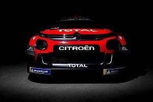 Citroen svela le prime foto teaser della livrea celebrativa che userà nel WRC 2019!