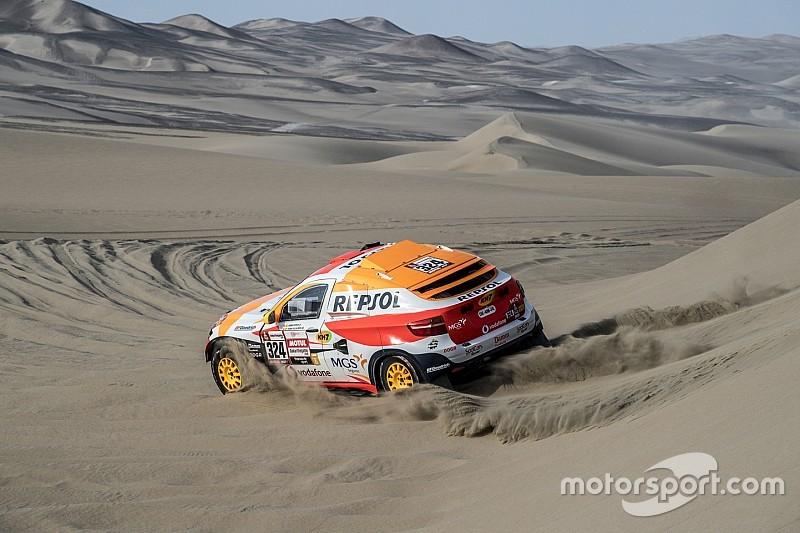 Isidre Esteve arranca su preparación para el Dakar en Marruecos
