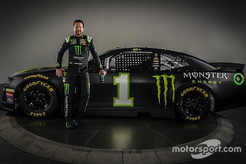 Kurt Busch and sponsor Monster Energy move to Ganassi