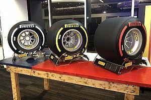 Pirelli revela los colores de sus neumáticos para 2019