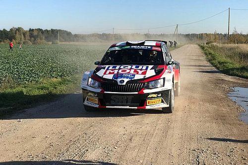 Nikolay Gryazin è subito un razzo nella Qualifying Stage del Rally Liepāja