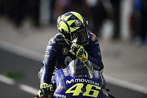 Rossi terlalu lama gunakan ban medium