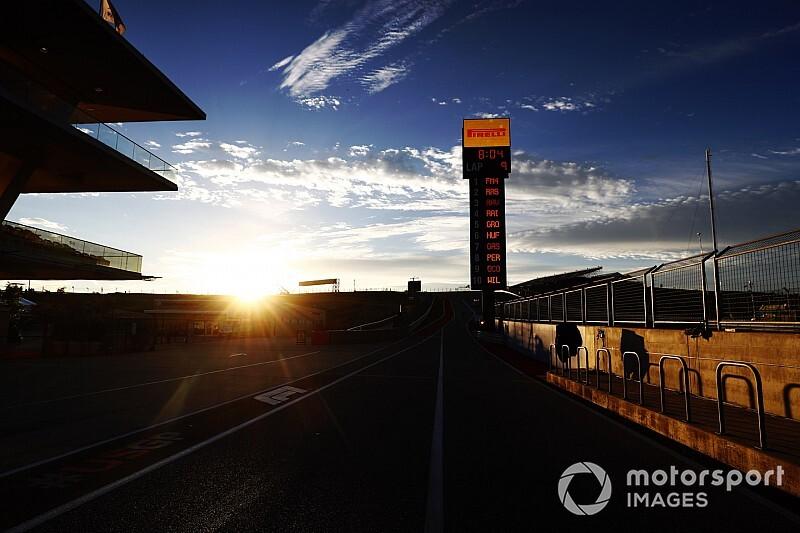 Weersverwachting voor de F1 Grand Prix van Amerika