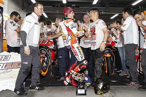"""Presidente da Honda quer Márquez na equipe """"para sempre"""""""