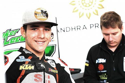 Moto2 Valencia: Lecuona topt chaotische eerste training