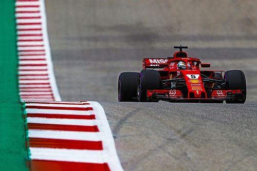 Vettel retient la compétitivité retrouvée de Ferrari