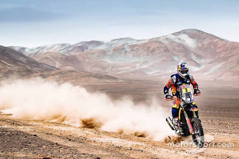 Price ditches Finke bike campaign in 2020 Dakar fitness bid
