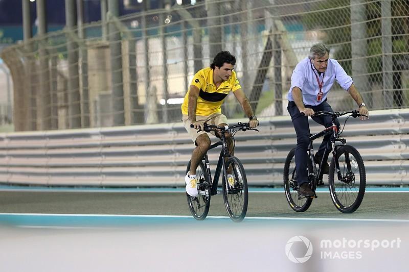 Sainz: McLaren'la Abu Dhabi testine katılmak oldukça önemli olacak