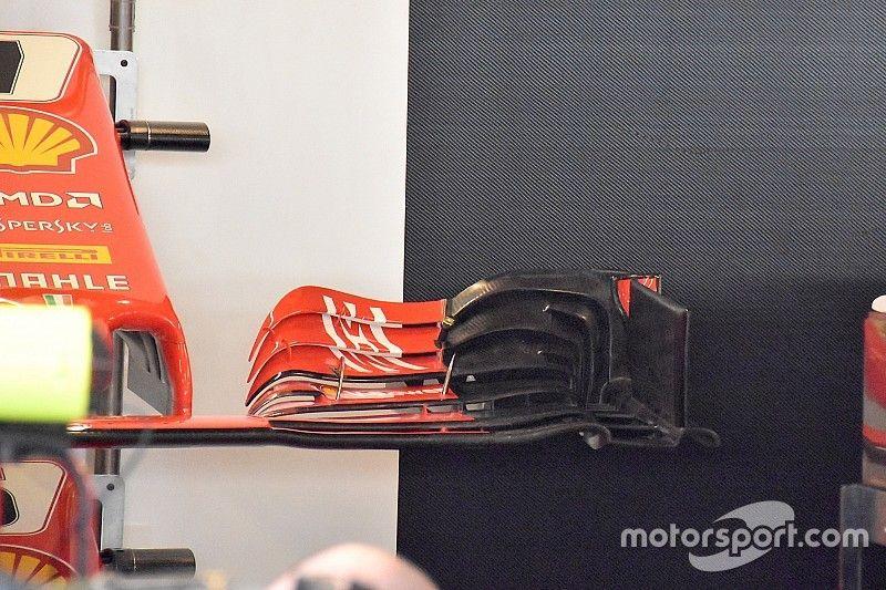 """Ferrari testa nova asa dianteira """"adaptada"""" para 2019 em Abu Dhabi"""
