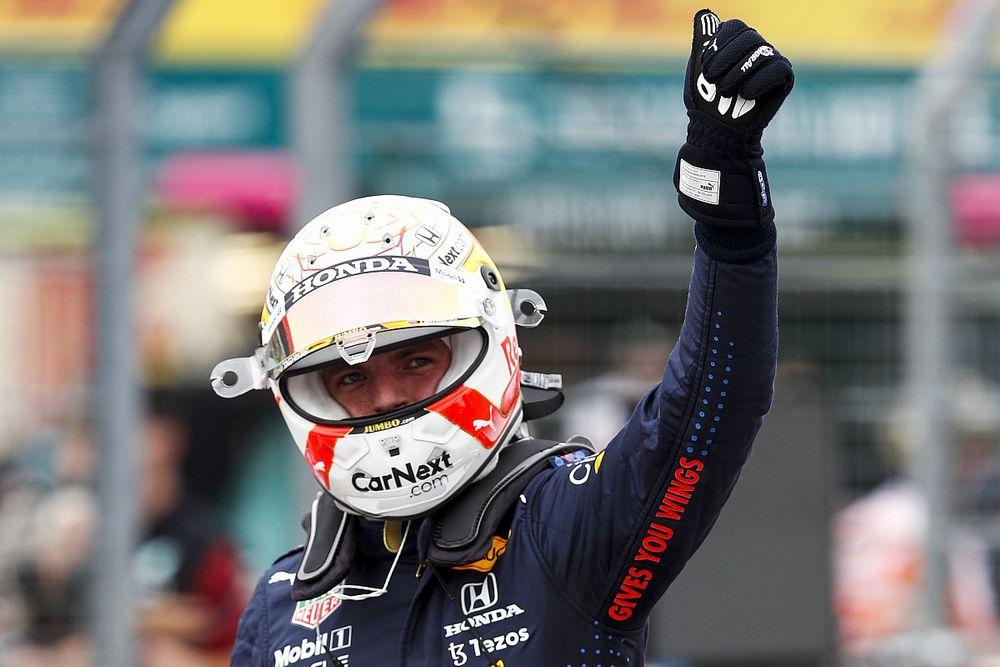 """ポール獲得のフェルスタッペン、""""予想以上""""の好結果に満足「レースペースにもかなり自信がある」"""