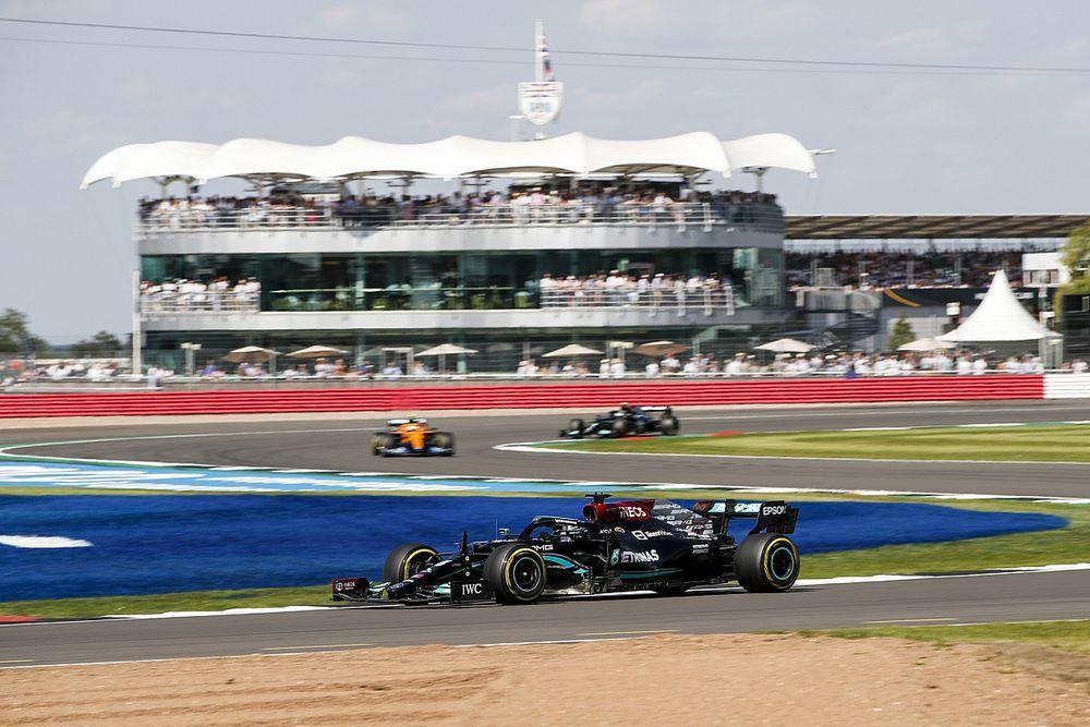 Hasil F1 GP Inggris: Team Order Mercedes Bantu Hamilton Menang