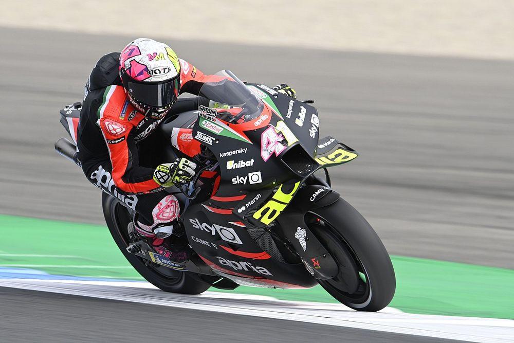 «Чувствовал себя идиотом». Гонка MotoGP расстроила Эспаргаро