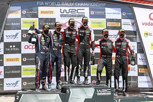 Evans gana en Portugal y Ogier consigue el podio