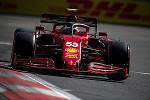 フェラーリ、アゼルバイジャンでも好調な滑り出し。しかし「モナコほどは速くない」とサインツJr.
