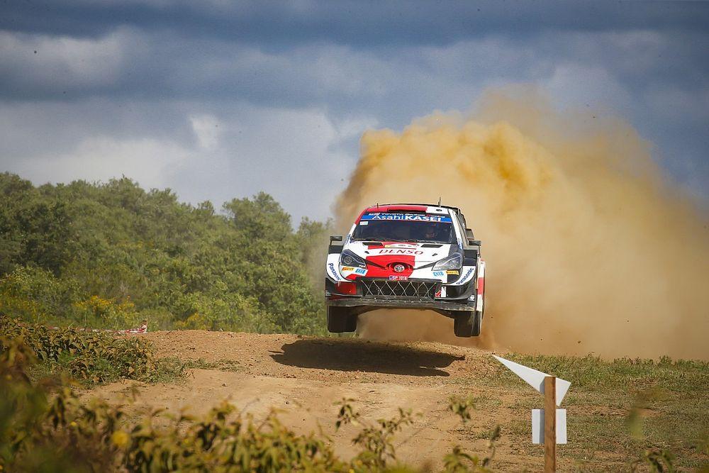 Safari Rallisi: Toyota hızlı başladı, Ogier en hızlısı