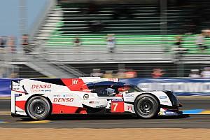 Le Mans Crónica de Carrera Toyota continúa al frente y Porsche sufre su primer problema