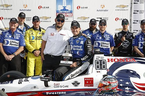 Rahal says dominant win justified yesterday's confidence