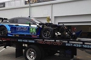 """Pruett """"not exactly sure what took place"""" to cause wreck"""