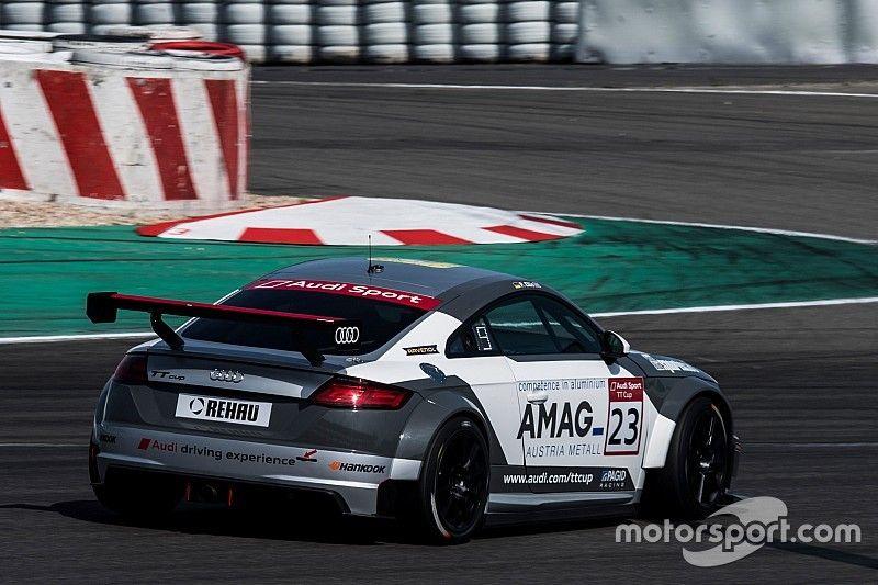 Audi TT Cup: al Nürburgring inutile secondo posto per Ellis