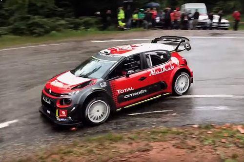 VIDEO: Sébastien Loeb prueba el C3 WRC