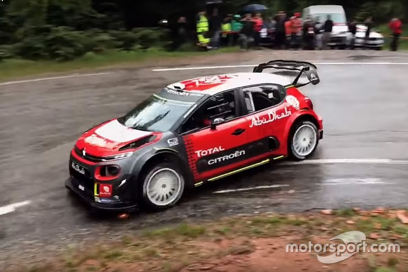 Video: l'esordio di Sébastien Loeb sulla Citroen C3 WRC Plus