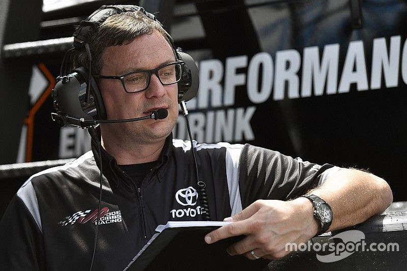 JGR names new crew chief and car chief for Denny Hamlin